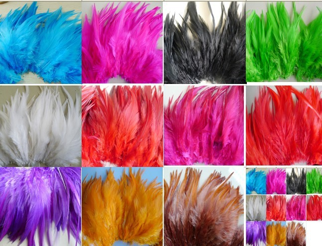 Free Shipping 100Pcs/lot Rooster Feather 4-6 Inches(10-15cm) Fluffy Dress jewelry Hat Christmas Holiday Decoration Feathers(China (Mainland))