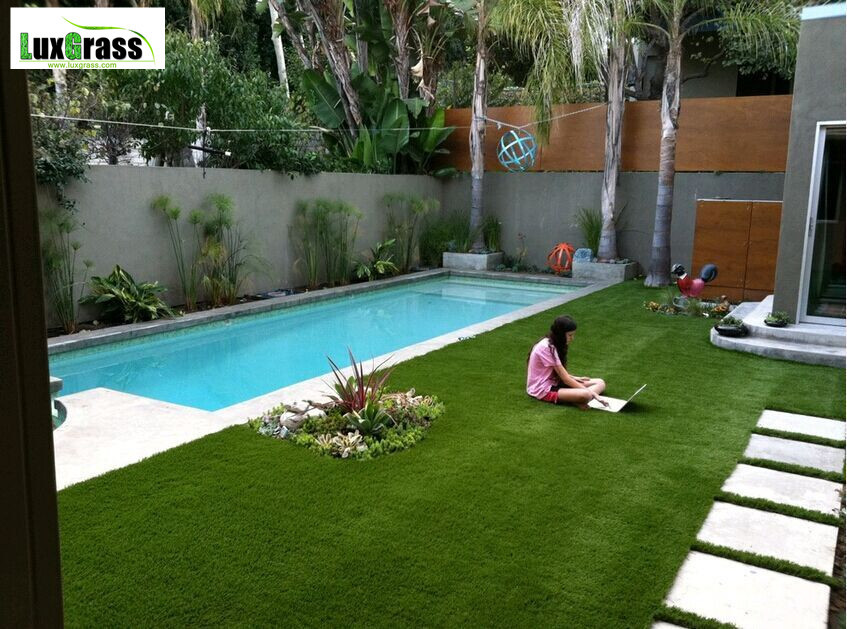 Artificial Grass Yards : Artificial grass lawns for residential yards backyards on Aliexpress