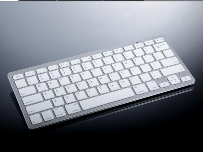 Ultra slim Wireless Keyboard Bluetooth 3.0 for IPAD ,MACBOOK,LAPTOP,Computer PC and android tablet 2*AAA battery(not included)(China (Mainland))