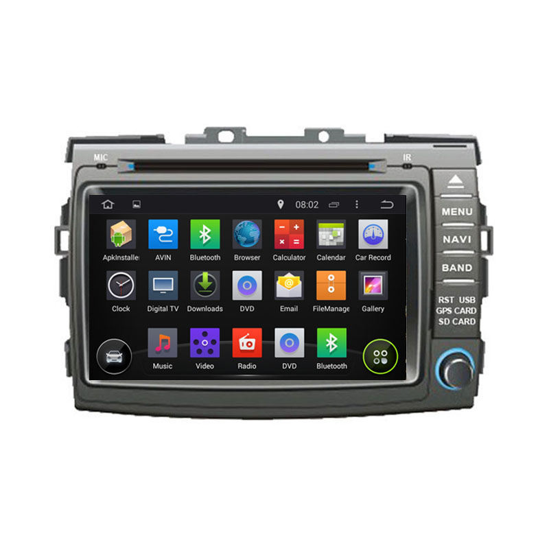 1024*600 Quad Core Android 5.1.1 Fit TOYOTA PREVIA, Estima, Tarago, Canarado 2006 - 2009 - Car DVD Player Navigation GPS Radio(China (Mainland))