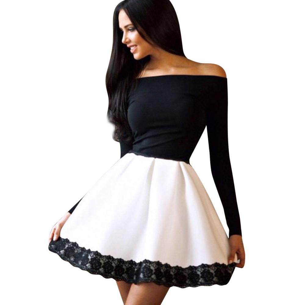 Платье Черное С Пышной Юбкой Купить