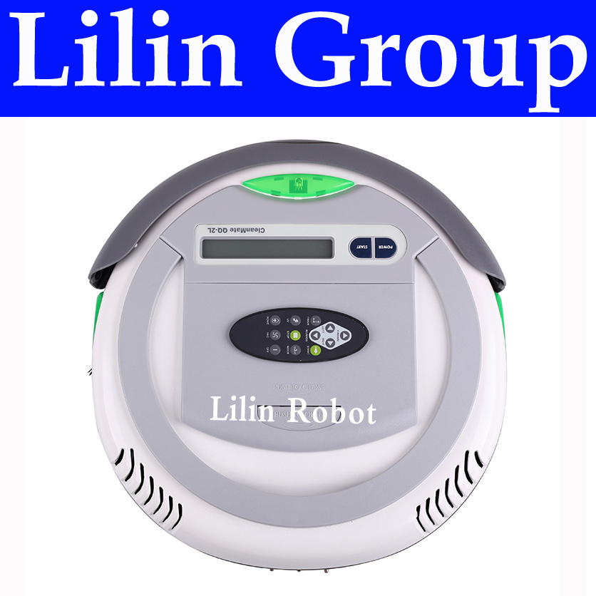 4 In 1 Multifunctional Robot Vacuum Cleaner (Vacuum, Sweep,Sterilize,Air Flavor), LCD,Remote Control,Timing Setting,Self Charge(China (Mainland))