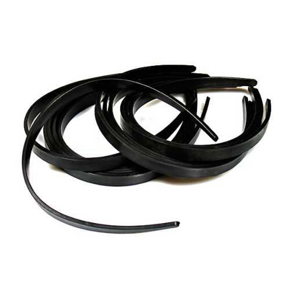 "USA Delivery New Practical Beautiful Superior 1/2"" Black Plastic Hair Headband - 36 Pieces(China (Mainland))"