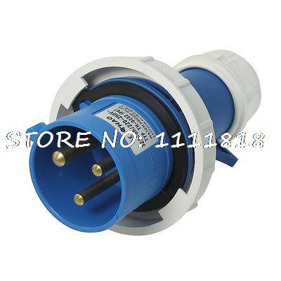 AC 220-250V 32A IP67 2P+E IEC309-2 Industrial Plug Conector(China (Mainland))