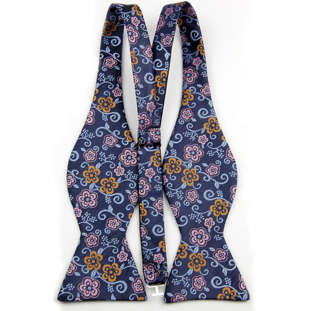 2015 Silk Bow Tie Sets with Handkerchief for Men Floral Pattern Butterfly Bowtie Mens 001-059(China (Mainland))