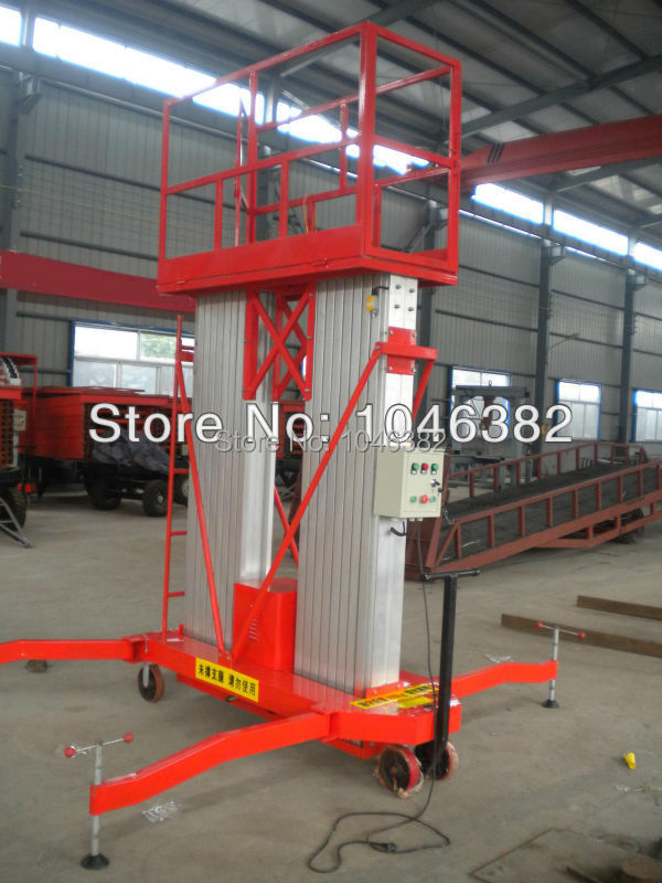 12 Meters Electric Two Post Aluminium Work Lift Table(China (Mainland))