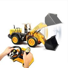 1/20 scale rc forklift truck electric rc bulldozer 4WD remote control construction trucks rc Forklift loader(China (Mainland))