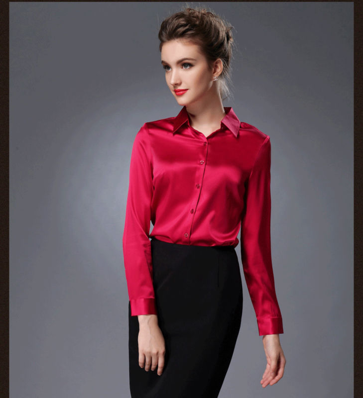 Creative  Satin Blouses On Pinterest  Satin Sexy Business Attire And Blouse