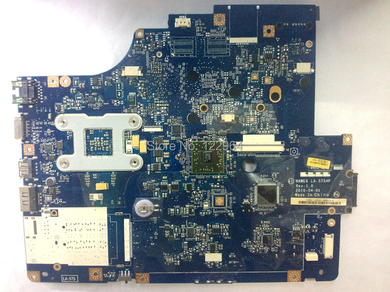 Wholesale Original laptop motherboard LA-5754P for Lenovo G565 integrated tested working perfectly(China (Mainland))