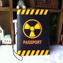 22 newest popular cartoon big hero passport holders PVC Leather men and women children travel passport