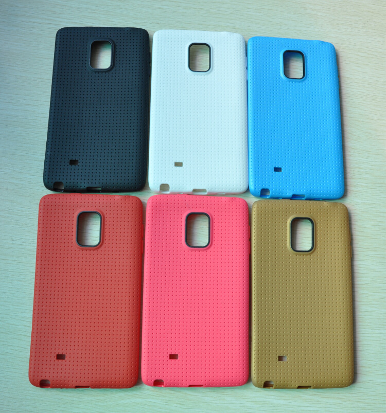 10 Honeycomb Style Ultra Slim Soft Silicone TPU Case Samsung Galaxy Note Edge N9150 - Accessories's Home store