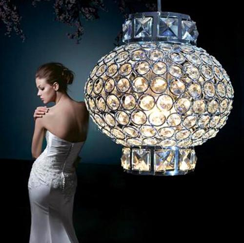 Chinesische laternen stil führte kristall lampe romantische laterne ...