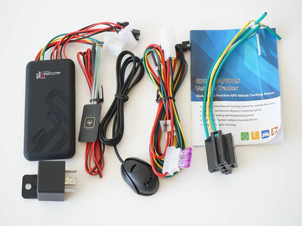 Gt06 автомобилей транспортное средство мотоцикл GSM GPRS GPS трекер с бесплатно в режиме реального времени пк системы слежения