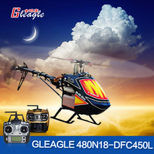 Gleagle 480N 2.4G 6CH RC Fuel Helicopter RTF RC NItro helicopter 15Engine 180CC gasolin helicopter 60A ESC/Carbon fiber Hot sale