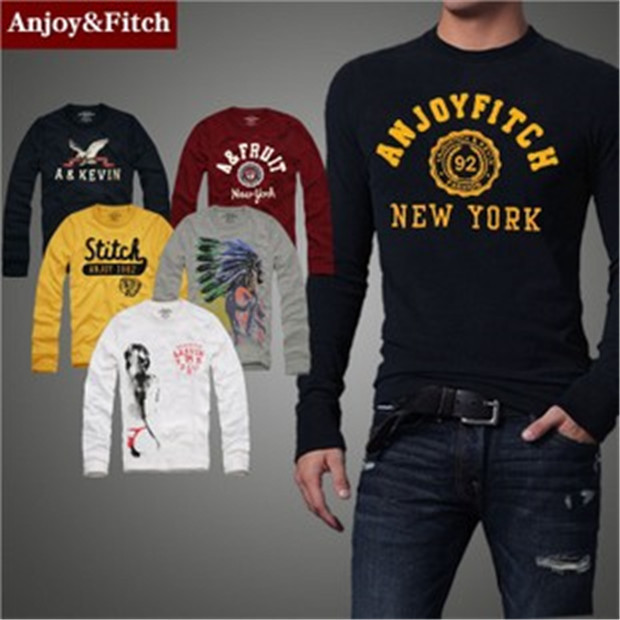 fitch long tees men male models picture