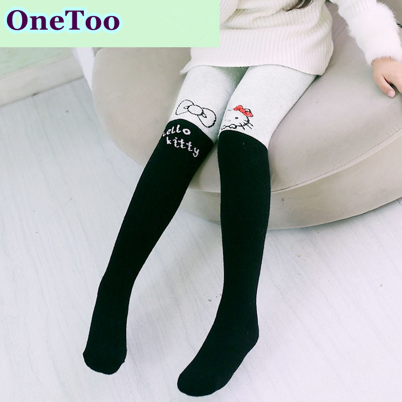Children Terry pantyhose 9a11c thickening cotton Leggings socks factory wholesale Yiwu girls