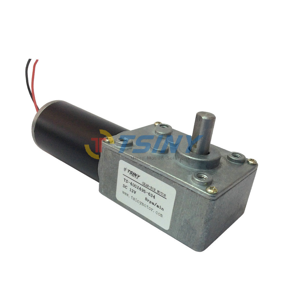 12v8rpm Min Dc 12 Volt Motor Speed Reducer Metal Gear Reduction Motor Free Shipping In Dc