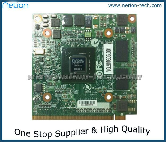 100% brand new and origina NVIDIA GeForce 9300M GS (G98-630-U2) DDR2 256MB 64Bit MXM II VG.9MG06.001 laptop VGA card for Acer(China (Mainland))