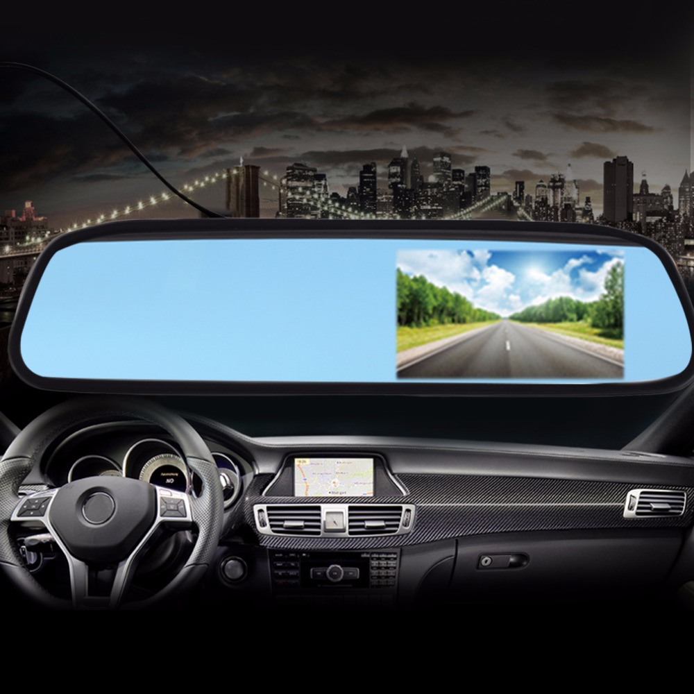 5 Digital TFT LCD Screen Resolution 800480 16:9 Car Monitor Rearview Mirror Security Monitor Auto for Camera DVD VCR<br><br>Aliexpress