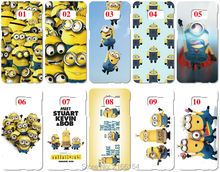 Buy Lot Minion Painting plastic Hard Cover Samsung Galaxy S2 S3 S4 S5 Mini S6 S7 Edge Plus Note 2 3 4 5 Mobile Cell phone Case for $14.38 in AliExpress store