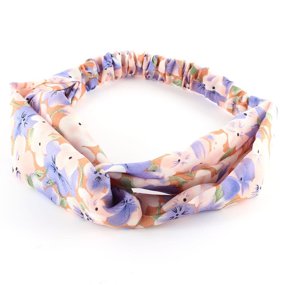 Women Cotton Turban Twist Knot Head Wrap Headband Twisted Knotted Hair Band Fashion(China (Mainland))