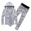 2017 New Fashion Mens Sportswear Male Casual Sweatshirt Man Brand Fashion Suit Men Leisure Hoodie Tracksuit