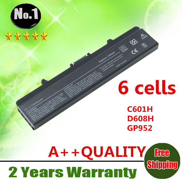 Wholesale New 6cells laptop battery FOR DELL Inspiron 1525 1526 1545 1546 J399N G555N 0F965N M911G X284G GP952 free shipping(China (Mainland))