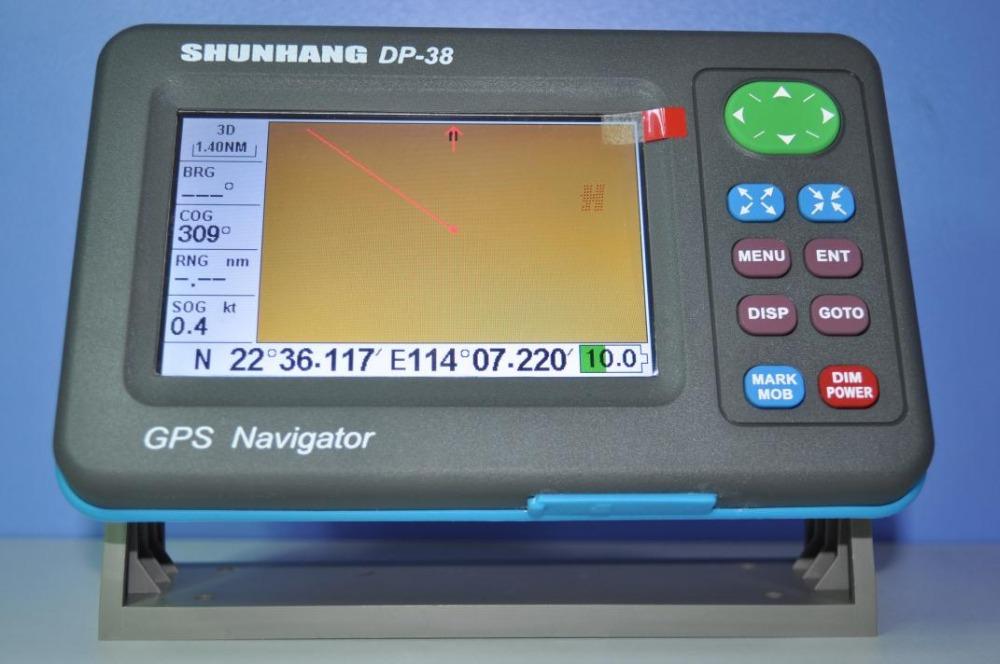 2015 latest DP-38A 5 inch class b ais transponder & receiver combo plotter gps marine navigator(China (Mainland))