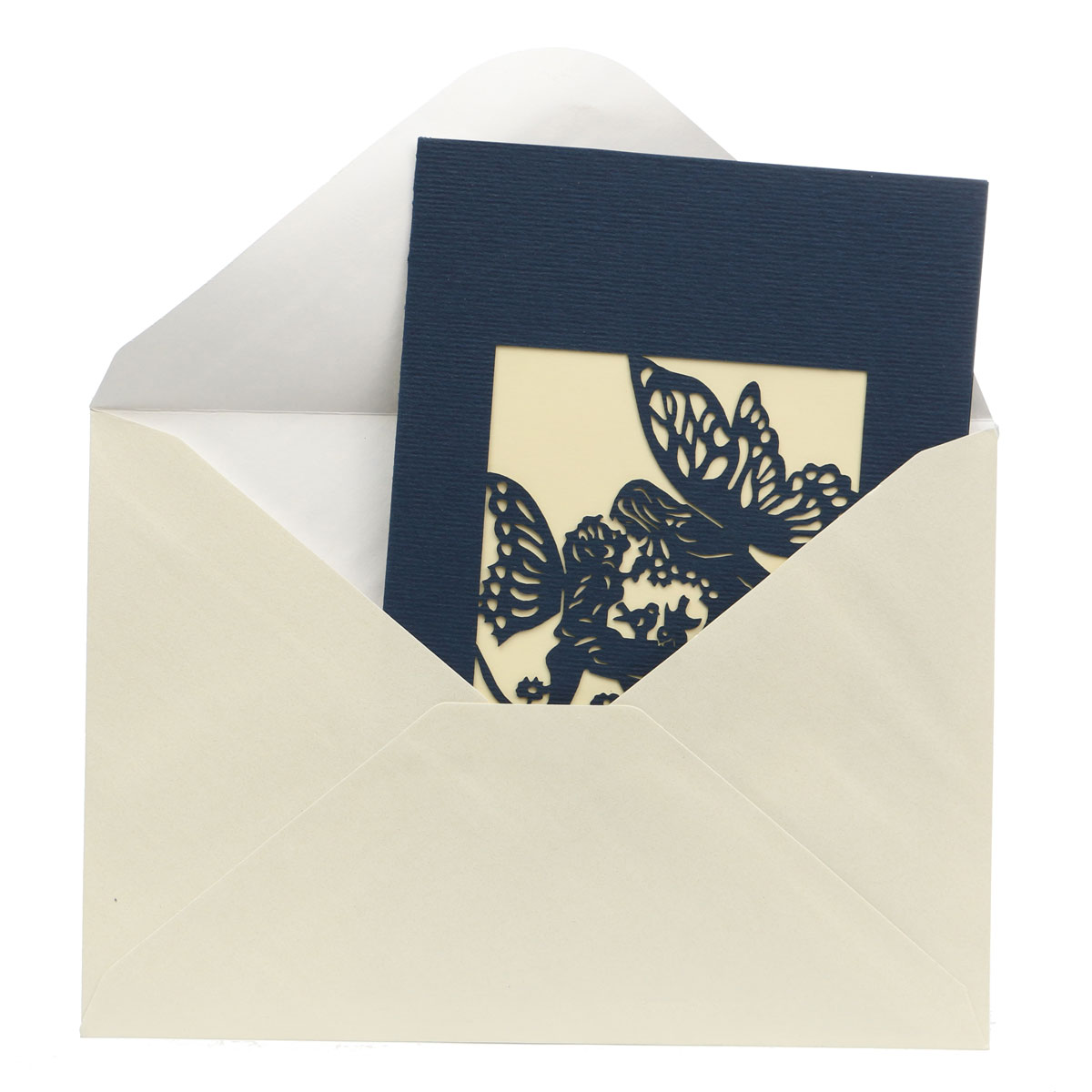 3D Pop Up Stereo Card With Envelop Paper Cut Love Angel's Kiss Greeting Cards Birthday Party Wedding Invitation Card Gift(China (Mainland))