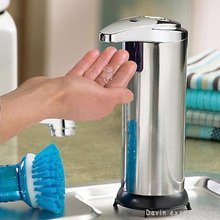New Automatic Sensor Handsfree Touchless Soap Liquid Dispenser Kitchen Bathroom+FREE SHIPPING(China (Mainland))