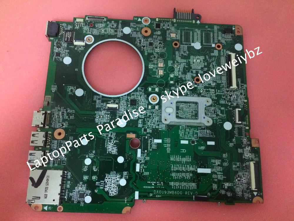 Free Shipping 776783-501 For HP 15-F 15-F009WM Notebook Motherboard DA0U93MB6D0 Rev D Main board<br><br>Aliexpress
