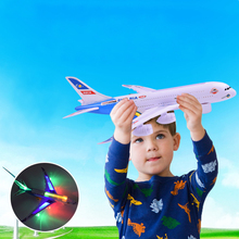 A380 Electric Universal Airliner Model Children Toys Airbus Large Passenger Aircraft With Music Light No Remote Boy Toy (China (Mainland))