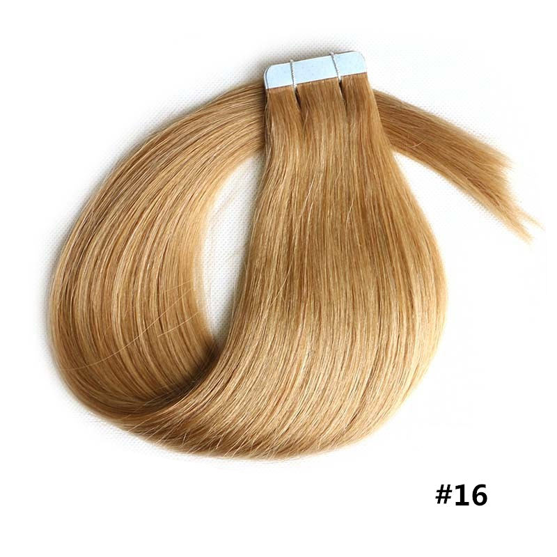 Natural Dark Blonde Hair Extensions Remy Indian Hair