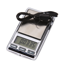 Buy MiNi Digital Scale 200g/0.01g Portable LCD Electronic Jewelry Scales Weight Weighting Diamond Pocket Scales Balance Gram for $6.46 in AliExpress store