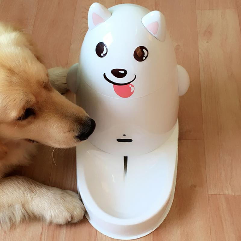 Induction Type Automatic Pet Water Fountain Dog Cat Small Dog Water Bowl for Water Dispenser-L5(China (Mainland))