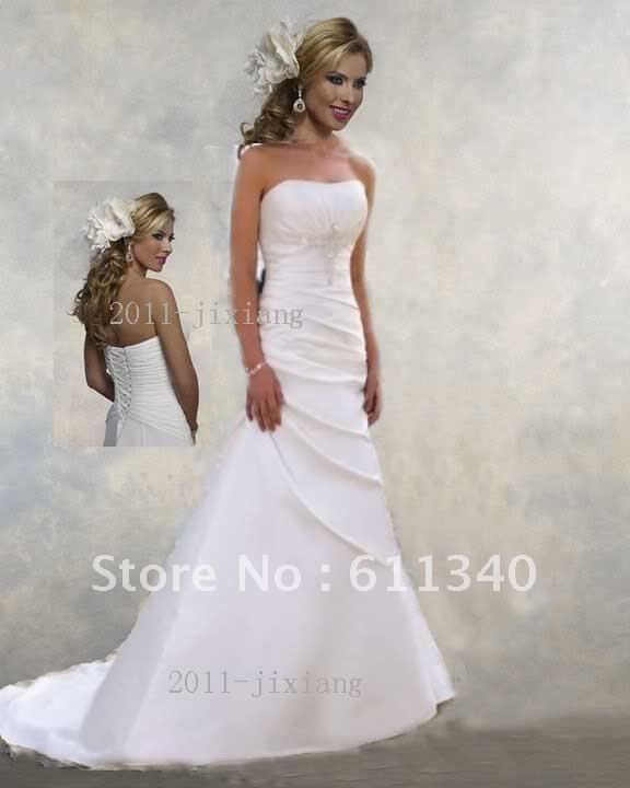 Chwhite ivory color beach wedding bridesmaid evening dress for Colored beach wedding dresses
