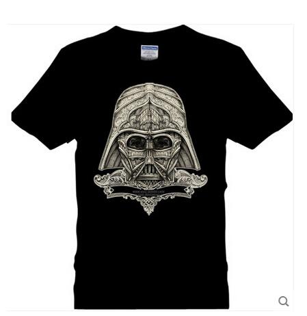 New Novelty Summer Star Wars T Shirts Popular Short Sleeve Men 3D T Shirts Round Neck