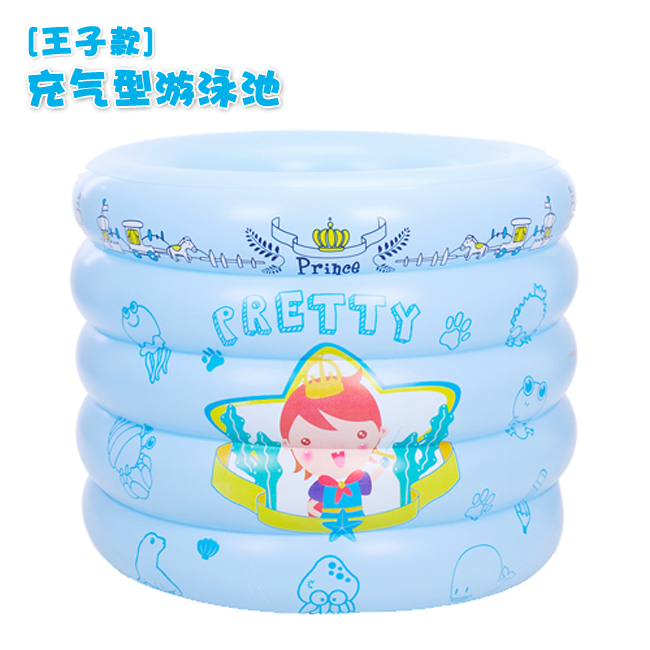 2014 new arrival seconds kill inflatable round plastic baby swimming bucket child pool 100 times . inflatable circle 27018 75(China (Mainland))