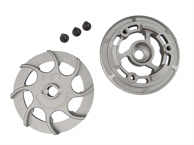 heavy duty CNC machined hard anodized aluminum slipper pressure plate and hub for Traxxas X Maxx <br><br>Aliexpress
