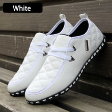 Free Shipping New Fashion Canvas Men Shoes Brand Men's Flats Breathable  Lace-up Shoes High Quality Plus Size 39-46 LS001(China (Mainland))