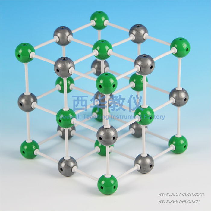 XCM-001-3-Ionic Crystal Model Sodium Chloride(NaCl)(China (Mainland))