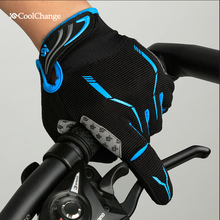 Coolchange Cycling gloves Full Finger Touch Screen Bike Gloves Sport MTB Windstopper Gloves Guantes Ciclismo CG-91030(China (Mainland))