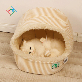 2015 new hot sale autumn winter teddy pet small dogs house cat bag kennel&pens dog bed tent PT127