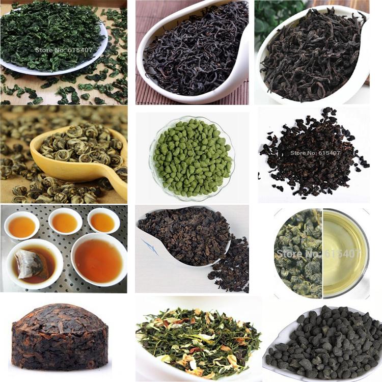 12 kinds of taste China tea, This shop sample tea, each of 2 bags,24 small bags milk Oolong Tea, Lapsang souchong, Dahongpao Tea(China (Mainland))