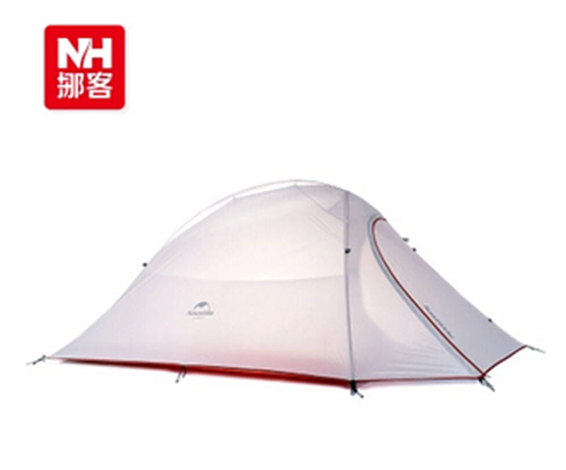 Naturehike Outdoor Silicone Fabric Double-layer Camping Tent 2 Person Ultralight Tent Double Layers Silicone Waterproof Tent(China (Mainland))