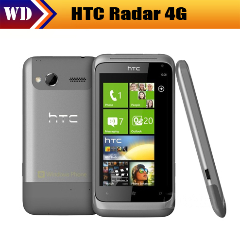 Original HTC Radar 4G for T-Mobile HTC Omega GPS WIFI 5MP Windows Mobile Unlocked Cell Phone EMS FREE SHIPPING(China (Mainland))