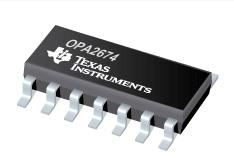 Free shipping OPA2674I-14D OPA2674 SOP14 100% original spot High Output Current Operational Amplifier(China (Mainland))