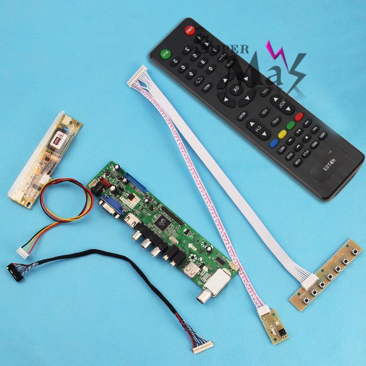 "TV+HDMI+VGA+AV+USB+AUDIO LCD Controller Driver Board Card TV Motherboard For 10.1"" 11"" 12"" 13.3"" 14"" LCD(China (Mainland))"