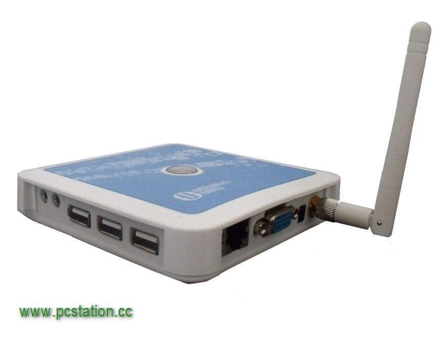 Cheap Wireless Thin Client, Wifi PC Station with Windows CE 6.0 OS, Three USB ports, Support Windows XP/7/2003, Linux