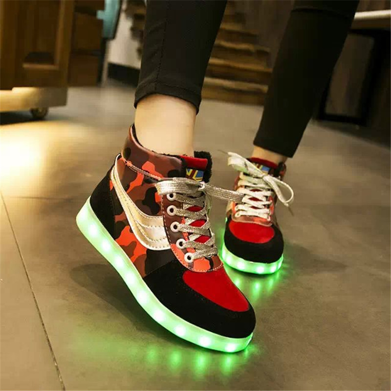 Light up sneakers for adults women shoes Led shoes for adults sneakers huarache sneakers 2015 hot new plus led luminous shoes<br><br>Aliexpress